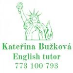 Katka Bužková, English tutor
